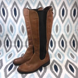 Vince Camuto Kent Boots in Cognac